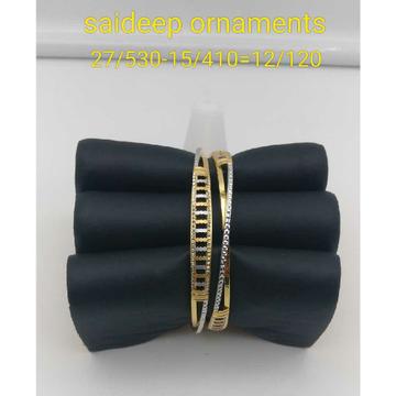 916 Gold22kt Copper Bangle