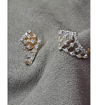 18 KT rose Gold Attractive Earring For Women SDJ-2... by Shri Datta Jewel