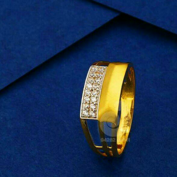 916 Classic Cz Gents Ring