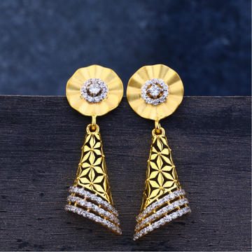 Ladies 22K Gold Jummar Earrings -LJE102
