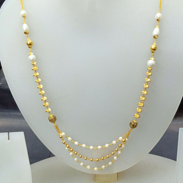 Delicious 22 Ct Fancy White Mala