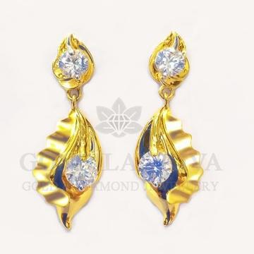 18kt gold earring gft156 by