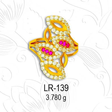 916 ladies ring LR 139