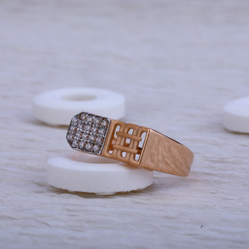 750 Rose Gold Ring RMR26