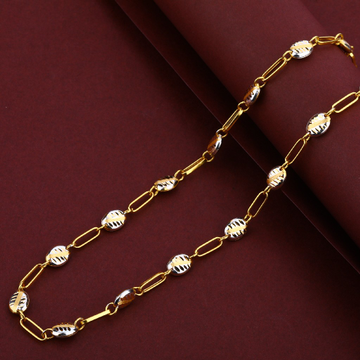 Mens Gold 22K Chain-MTC54