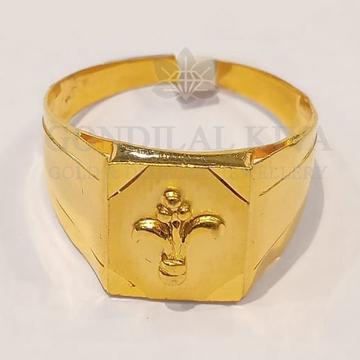 22kt gold ring ggr-h65