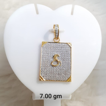 916 Gold CZ Gogha Pendant KG-P06 by