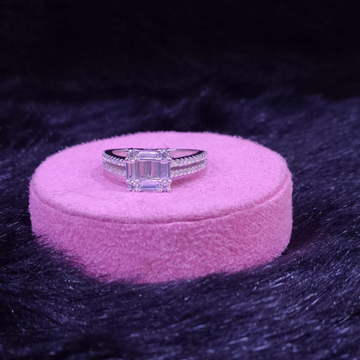 92.5 Sterling Silver Zakheera Choki  Ring For Women