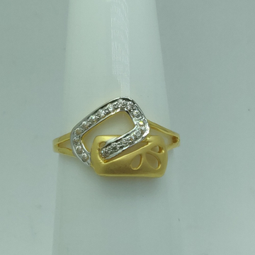 916 gold cz stylish ring for women ssj-r008