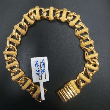22 kt gold fancy bracelet by Aaj Gold Palace