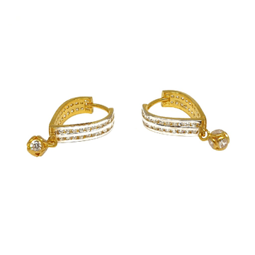18K Gold Fancy Earrings MGA - BLG0542