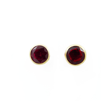 18K Gold Colour Single Stone Tops by