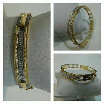 22k Fancy Diamond Bracelet G-3416