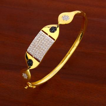 18CT CZ  Ladies designer Gold Kada Bracelet LKB170