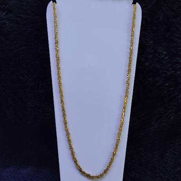 22KT/916 Yellow Gold Akshita Chain For Women