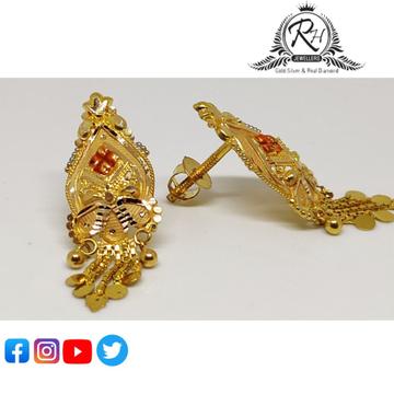 22 carat gold classical ladies earrings RH-ER854
