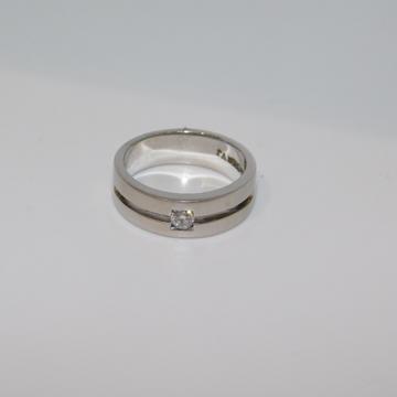 14K gold diamond ring agj-lr-296