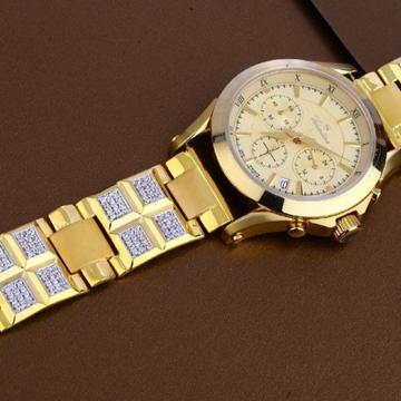 22 carat gold mens fancy hallmark watch rh-ga482