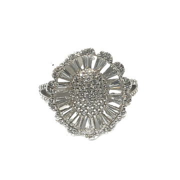 925 Sterling Silver CZ Diamond Ring MGA - LRS0854