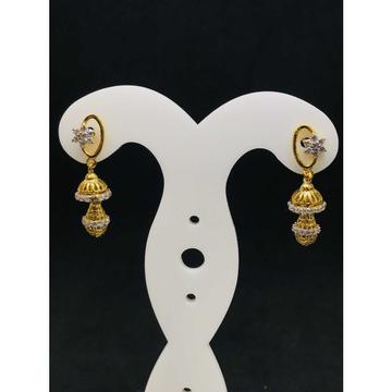 916 Ladies Fancy Gold Earring Er-60016