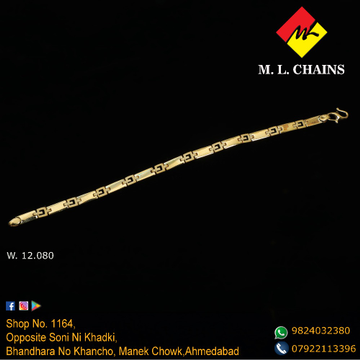 916 Gold Fancy Bracelet ML-B09