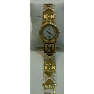 916 Gents Fancy Plain Gold Watch G-1016