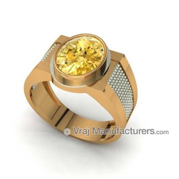 18KT Gold Royal Ring For Men