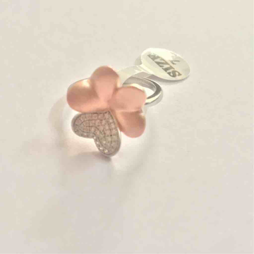 flower shape ladies ring