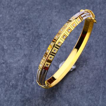 22kt Gold Designer punjabi Bangle MPLKB48
