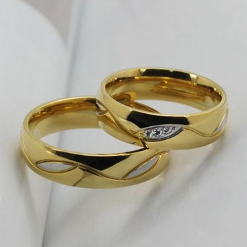 22 Kt 916 Gold Couple Ring by