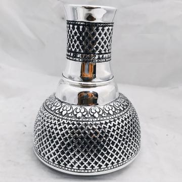 925 Pure Silver Stylish Kunja Surayi Set With Glas...