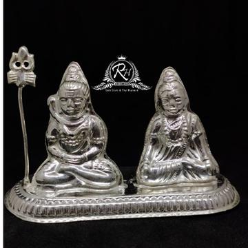999 silver shiv parvati in murti RH-MT305
