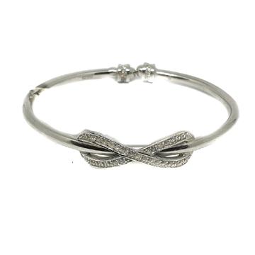 925 Sterling Silver Kada Bracelet MGA - KRS0055