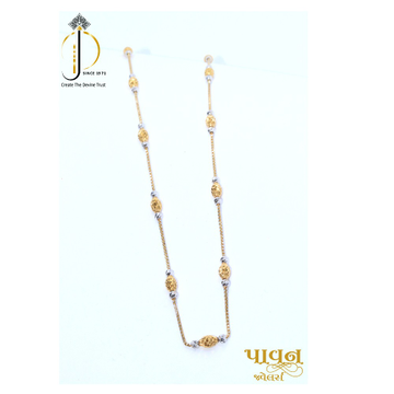 916 / 22KT Yellow gold fancy dailyware chain for women CHG0217