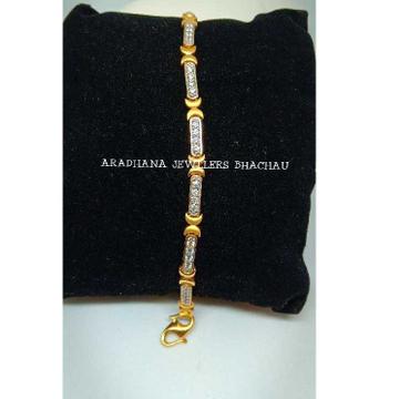 22KT Diamond Studded Ladies Bracelet