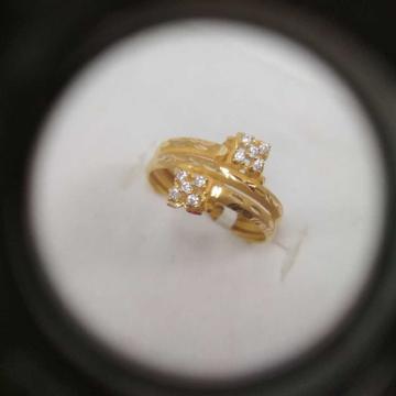 22 k Hollow Ring NJ-R069