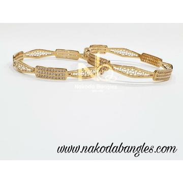 916 Gold CNC Bangles NB - 994