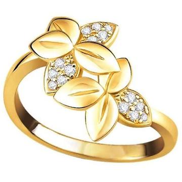 FLORA CZ DIAMOND RING LR0011