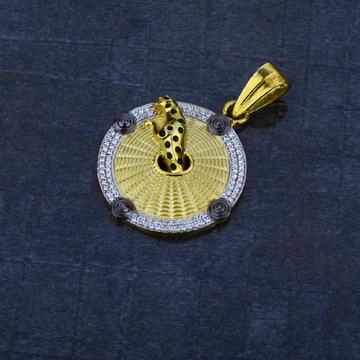 Men's Exclusive 916 Gold Jaquar Heavy Pendant- MHP06