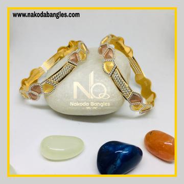 916 Gold CNC Bangles NB - 1279