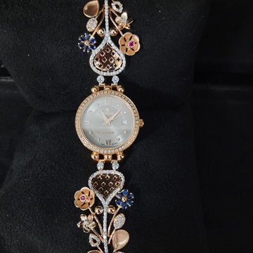 DESIGNING FANCY GOLD LADIES WATCH by