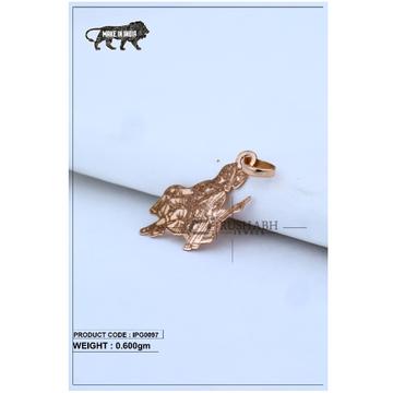 18 Carat Italian pendent rose gold god pendant ipg0097