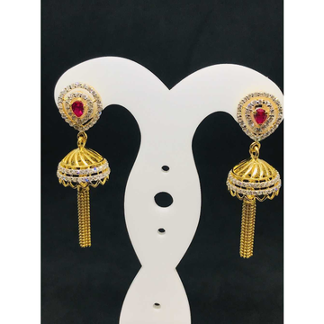 22k Ladies Fancy Gold Earring Er-60052
