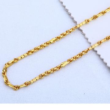 916 Gold Fancy Choco Chain MCH25