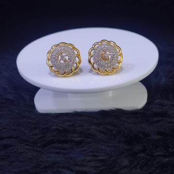 22KT/916 Yellow Gold Kanan Earrings For Women