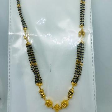 22k antique mangalsutra Necklace rbc adc80