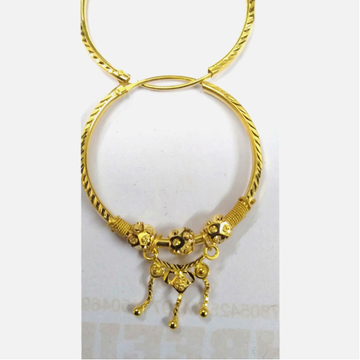916 Gold Fancy Latkan Bali For Ladies
