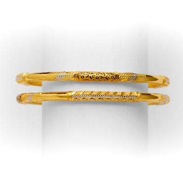 916 DECENT SINGLE PIPE GOLD COPPER KADLI by