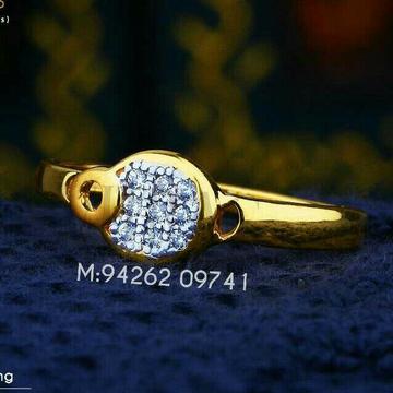 Casual Were Cz Fancy Ladies Ring LRG -0198
