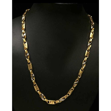 22 K Gold Hollow Chain. NJ-C0293